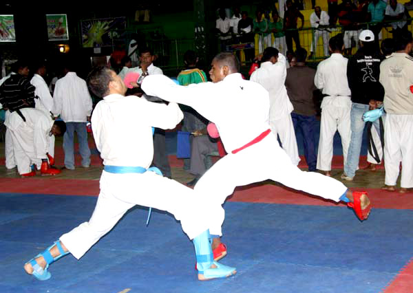 Karate-players
