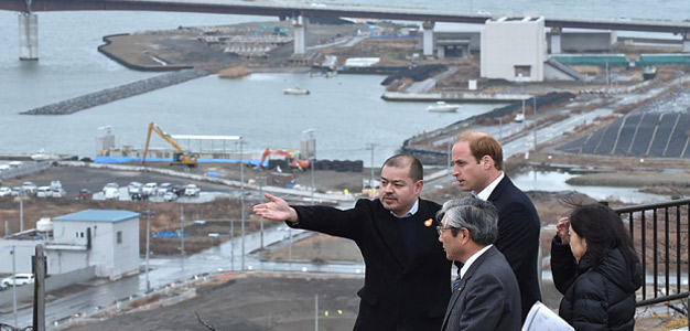 Prince-William-Tsunami-affected-areas-in-Japan